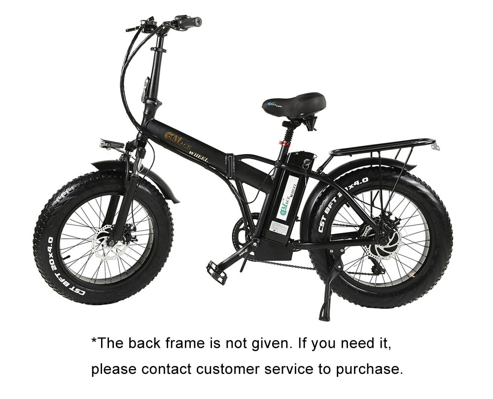 electric bicyc 20inch Electric snow car bicycle 48V15AH lithium battery hidden in frame500W high speed motor fold elect
