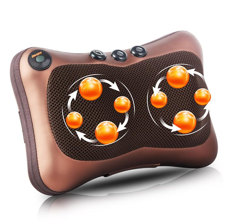 Car home pillows Shoulder massage pillow neck massager multi-function full-body massage cushion for leaning on